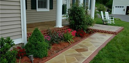 Concrete Walkways Custom Concrete Solutions, LLC West Hartford, CT