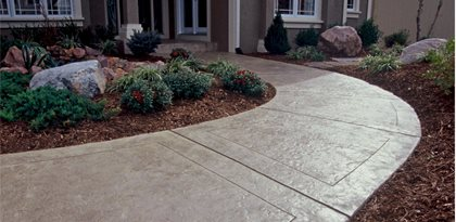 Texas, Stamped Concrete Walkway Concrete Walkways One Awesome Concrete Missouri City, TX