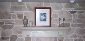 Fireplace, Vertical Site Custom DesignCrete, Inc Crescent, PA