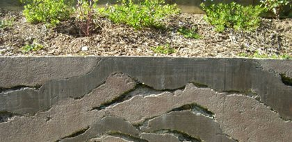 Layers, Gray Site Ron Odell's Custom Concrete Woodland Hills, CA