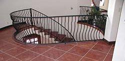 Stairway Tile, Floor Tiles Site Tom Ralston Concrete Santa Cruz, CA