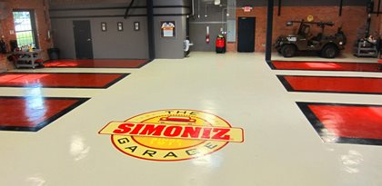 Auto Shop Flooring, Epoxy Flooring Concrete Floors Custom Concrete Solutions, LLC West Hartford, CT