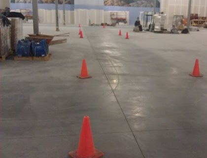 Teamwork Produces The Best Polished Concrete The