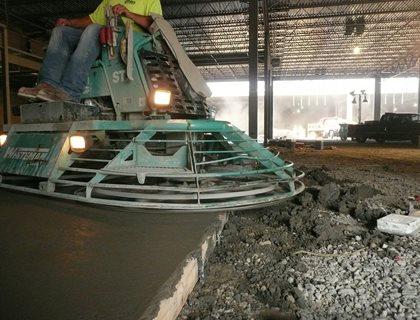 Machine Edge Finish Site Decorative Concrete Institute Temple, GA