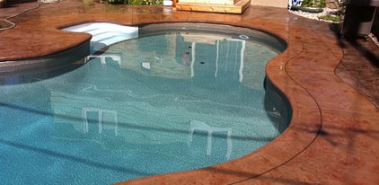 Bullnose Coping Concrete Patios King Concrete Ottawa, ON  Concrete Pool Designs