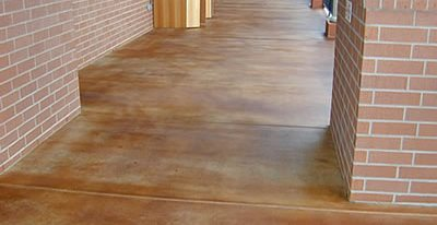 Existing Concrete Patios L M Industries Llc Port Orange