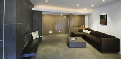 Living Room Concrete Floors Concrete Patios Modal Design Los Angeles, CA