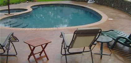 Pool Deck, Outdoor Furniture Concrete Patios Artistic Concrete Riverside, RI  Concrete Pool Designs
