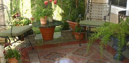 Concrete Patio, Rug Faux Villa Decorative Finishes Studio ,