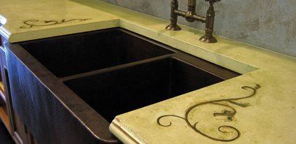 Khaki Green, Scrolls Site Trueform Concrete Wharton, NJ