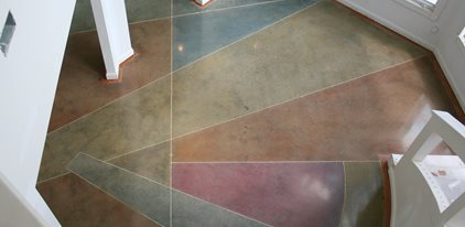 Polished Concrete Floor Artistic Surfaces Inc Indianapolis, IN