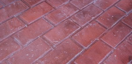 Running Bond Brick, Stamped Concrete Site Brickform Rialto, CA