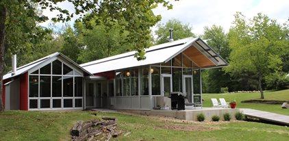 Steel And Glass Framed Home Site Dancer Concrete Design Fort Wayne, IN