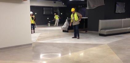 At&t Center, Polished Floors Site K-Stone San Antonio, TX