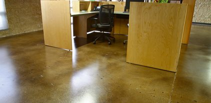 Staining concrete floors the concrete network for Colored concrete floors