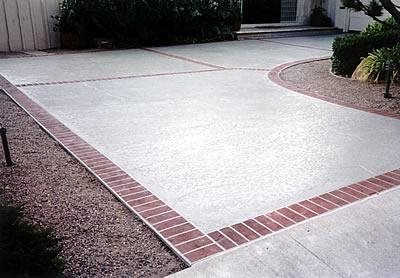 Brick, Border Concrete Driveways Concrete Solutions San Diego, CA