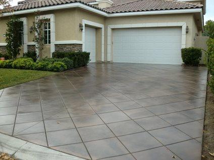 Decorative Concrete Concrete Driveways All Floors Restoration Jacksonville, FL