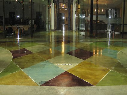 Etonnant Stained Concrete Floor, Stained Concrete, Concrete Staining Concrete Floors  Demmert U0026 Associates Glendale,