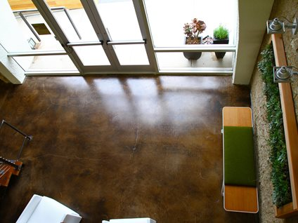 Stained Concrete Floors Benefits