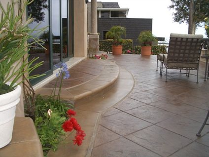Decorative Concrete Concrete Patios Florrestore Surface Solutions Huntington Beach, CA