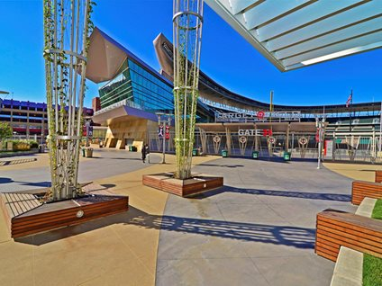 Target Field, Stained Concrete, Patio Concrete Patios Bulach Custom Rock Inver Grove Heights, MN