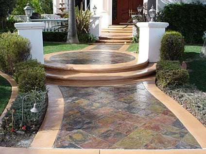 Concrete Walkways Pac West Coatings Carson, CA