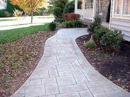 Concrete Walkway Cost - The Concrete Network