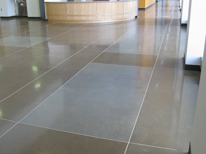 Polished Concrete Floor Cost Not Expensive Economical