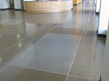 Polished concrete floor cost not expensive ecomonical for How to shine cement floor