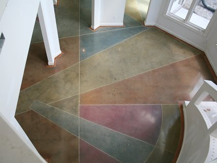 polished concrete floor polished concrete artistic surfaces inc indianapolis in - Concrete Floor Design Ideas