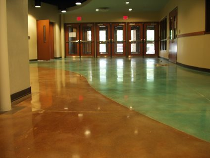 School Amp Museum Floor Designs The Concrete Network