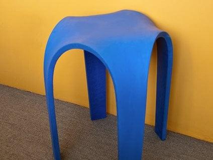 Bent Concrete Site Cheng Design Products Inc. Berkeley, CA