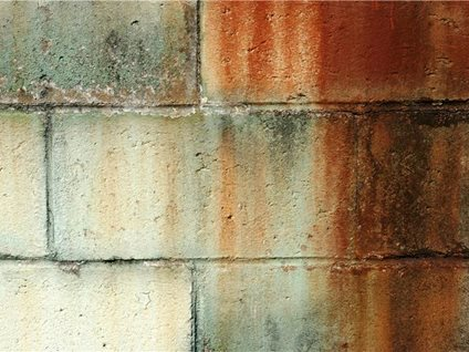 Chemicals help clean specific stains the concrete network for Cleaning concrete walls