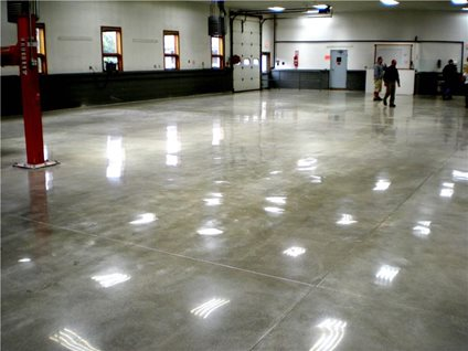 Reflective Concrete Floors The Concrete Network