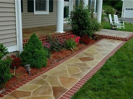 Sidewalk Repair Concrete Walkway Resurfacing The