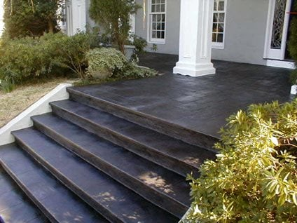 dark steps site elite crete corporation valparaiso indiana - Front Steps Design Ideas