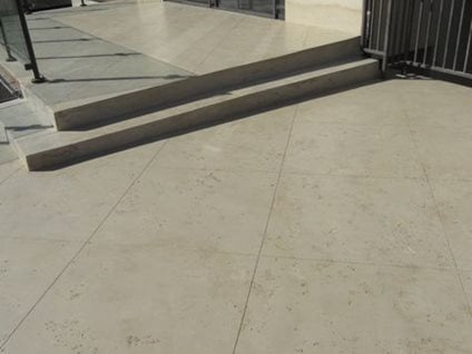 Limestone Coating Site Floor Strength Signal Hill, CA