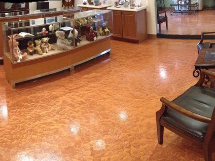 Metallic Concrete Floor Site Arizona Polymer Flooring Glendale, AZ