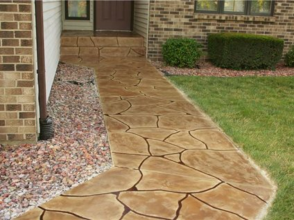 Overlay, Flagstone Site Special Effex Loves Park, IL