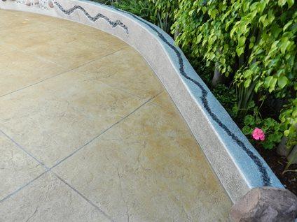 Poured Concrete Wall Site Visions Below Laguna Niguel, CA