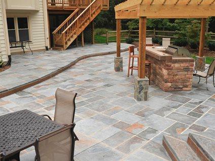 Site Salzano Custom Concrete Centreville, VA