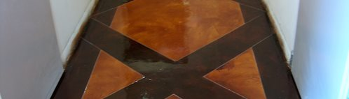Amber, Brown Concrete Floors Colors On Concrete Upland, CA