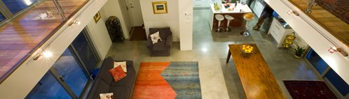 Brown Polished Floor, Concrete Polished Floor, Residential Polished Concrete Floor Concrete Floors Concrete Stone Industries Victoria, Australia