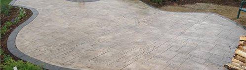 unique concrete patios and projects - the concrete network - Cement Patio Designs