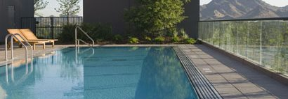 Pedestal Pool Deck Concrete Pavers Tile Tech Pavers , Nationwide Distribution