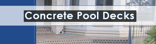 Concrete Pool Decks Catalog ConcreteNetwork.com ,