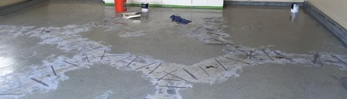 Garage Floor, Crack Repair Site Rhino Carbon Fiber Heath, OH