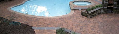 Pool Deck Pavers Site NRC Landscape Construction Vienna, VA