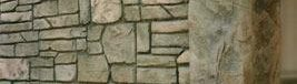 Rock, Wall Vertical Stamping Stone Edge Surfaces Mesa, AZ