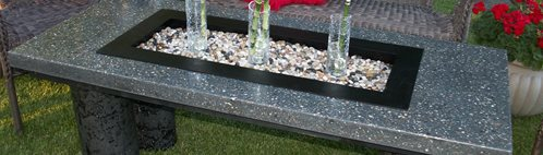 Table, Bench Outdoor Furniture Rafter C Precast Concrete Medicine Hat, AB